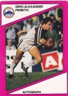 1988 Scanlens Penrith Panthers #101 - Greg Alexander