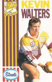 1990 Streets Broncos - Kevin Walters
