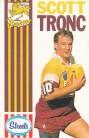 1990 Streets Broncos - Scott Tronc