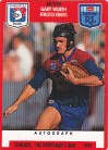 1991 Stimorol 062 Gary Wurth Newcastle Knights
