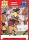1991 Stimorol 018 Gene Miles Brisbane Broncos
