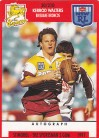 1991 Stimorol 020 Kerrod Walters Brisbane Broncos