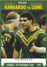 1991 Stimorol 172 Kangaroos v Lions Tour Action