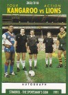 1991 Stimorol 203 Kangaroo v Lions Tour Action - Test Captains & Match Officials