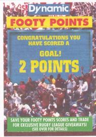 1994 Dynamic Footy Points - 2 Points