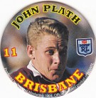 1994 Coca-Cola QLD Pog #11 - John Plath