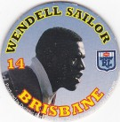 1994 Coca-Cola QLD Pog #14 - Wendell Sailor