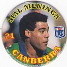 1994 Coca-Cola QLD Pog #21 - Mal Meninga