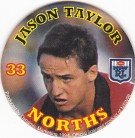 1994 Coca-Cola QLD Pog #33 - Jason Taylor