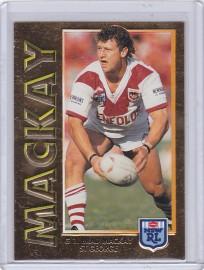 1994 Series 1 Embossed Gold Card - Brad Mackay
