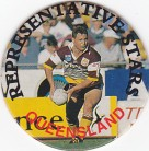 1995 Coca-Cola / Suburban 8 QLD Rep Pog #05 - Kevin Walters