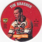 1995 Coca-Cola Footy Face Pogs #01 - Tim Brasher