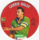 1995 Coca-Cola Footy Face Pogs #06 - Laurie Daley