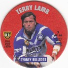 1995 Coca-Cola Footy Face Pogs #07 - Terry Lamb