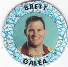 1995 Crown & Andrews Broncos Collector Pog (Silver) - Brett Galea