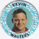 1995 Crown & Andrews Broncos Collector Pog (Silver) - Kevin Walters