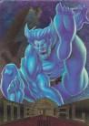 1995 Marvel Metal Beast Promo Card