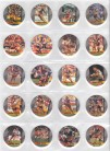 1995 Crown & Andrews Broncos Collector Pogs Part Set