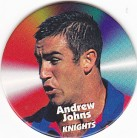 1997 Fatty's Turn it Up Pog #19 - Andrew Johns
