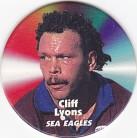 1997 Fatty's Turn it Up Pog #15 - Cliff Lyons
