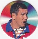 1997 Fatty's Turn it Up Pog #20 - Matthew Johns