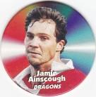 1997 Fatty's Turn it Up Pog #32 - Jamie Ainscough