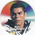 1997 Fatty's Turn it Up Pog #37 - Ken McGuiness