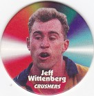 1997 Fatty's Turn it Up Pog #40 - Jeff Wittenberg