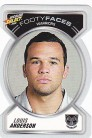 2006 Accolade FF132 Footy Face - Louis Anderson
