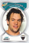 2006 Accolade FF098 Footy Face - Luke Rooney