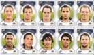 2006 Accolade Footy Faces Team Set - Cowboys
