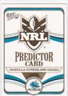 2006 Invincible PC04 Predictor Cronulla Sharks