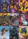 2007 Marvel Masterpieces X-men Chase Set X1 - X9