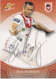 2008 Champions FS34 Foiled Signature Ben Hornby