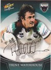 2008 Champions FS31 Foiled Signature Trent Waterhouse