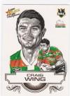 2008 Champions SK25 Sketch Card Craig Wing