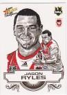2008 Champions SK23 Sketch Card Jason Ryles