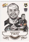 2008 Champions SK29 Sketch Card Nathan Fien