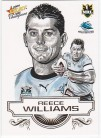 2008 Champions SK08 Sketch Card Reece Williams
