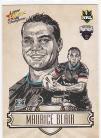 2009 Champions SK22 Sketch Card Maurice Blair