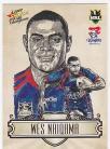 2009 Champions SK15 Sketch Card Wes Naiqama