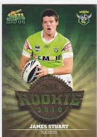 2011 Champions R13 Rookie Card James Stuart