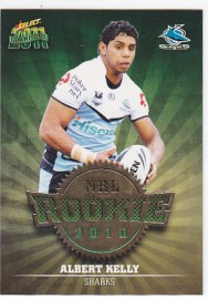 2011 Champions R16 Rookie Card Albert Kelly