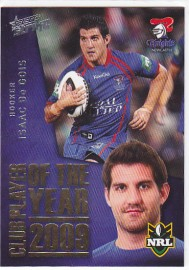 2011 Strike CP08 Club Player of the Year 2009 Isaac De Gois