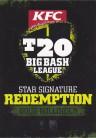 T20 Big Bash League Star Signature Redemption SS2R - Doug Bollinger