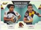 2012 Champions ST01 Showtime Holochrome Brisbane Broncos