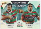 2012 Champions ST13 Showtime Holochrome South Sydney Rabbitohs