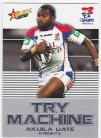 2012 Champions TM23 Try Machine Akuila Uate