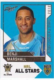 2012 Dynasty AS26 NRL All Stars Benji Marshall