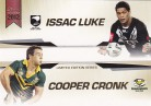 2012 ESP Limited Edition Album Card - Luke & Cronk